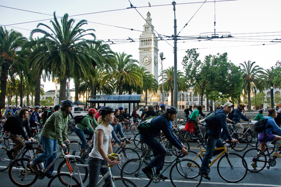 San Francisco bicycle culture