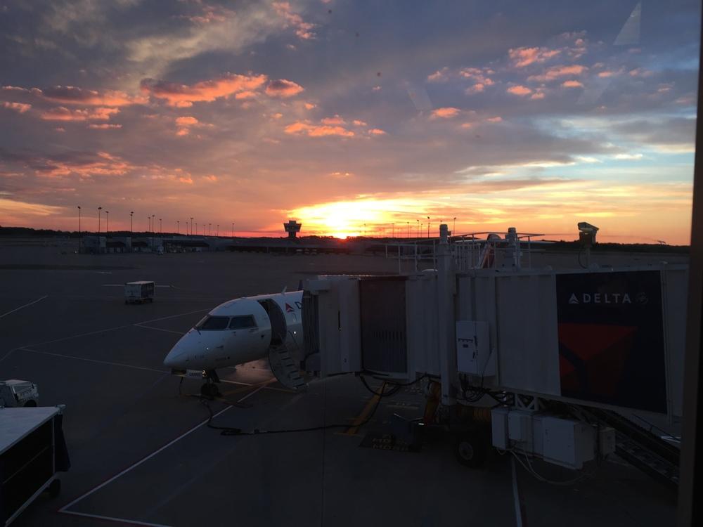 Sunset in Cincinnati