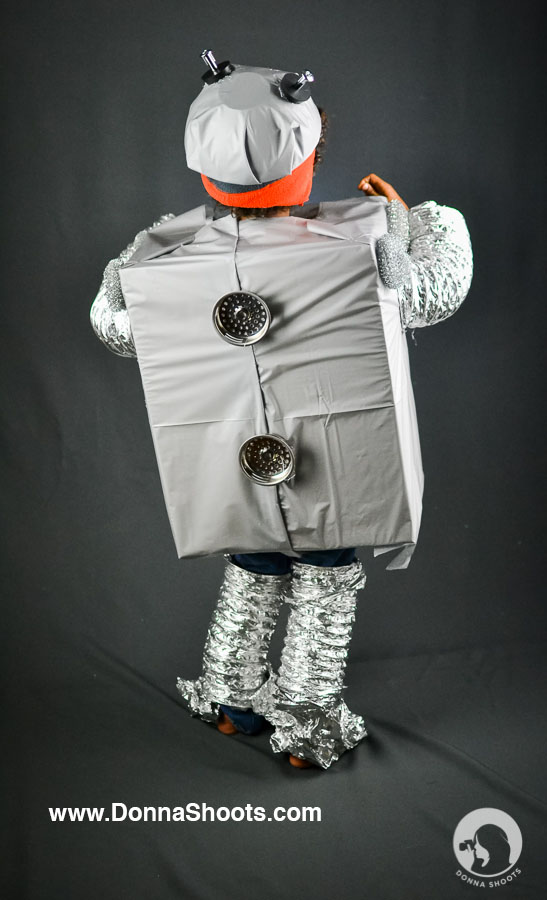 Creative Costume Halloween Robot