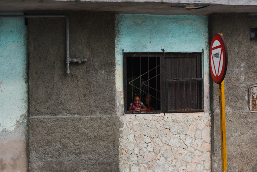 Little Cuban girl, September 2018 copyright Donna Shoots