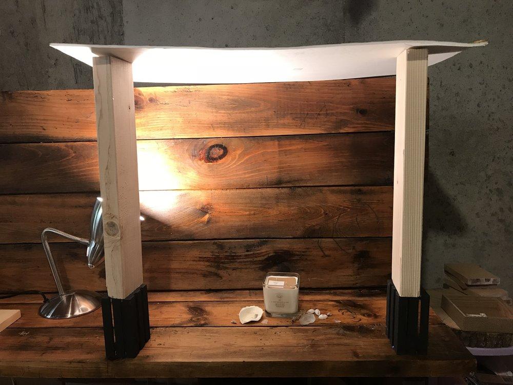 My photo light box