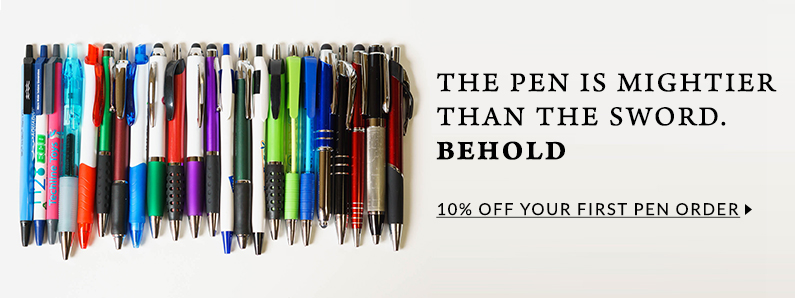 10% off your first pen order.