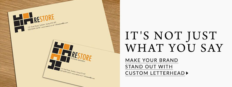 Letterhead for every type of business