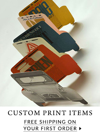 Free shipping for custom print items