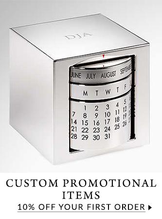 10% off custom promotional items.