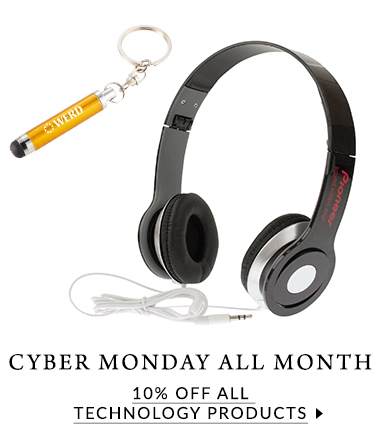 Cyber Monday all November with 10% off technology products