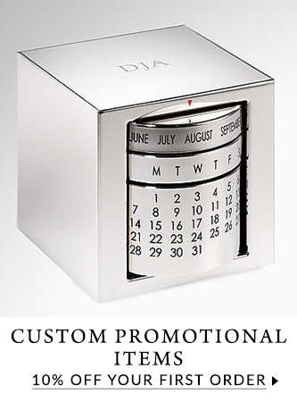 10% off first order of custom promotional items