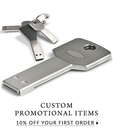 10% off first order of custom designed promotional items