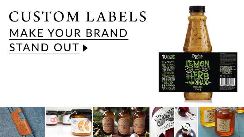 Printed labels for your items