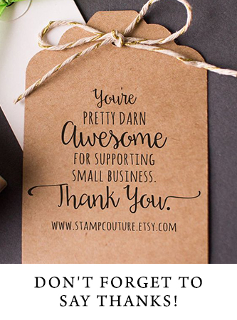 Thank you cards help your business stand out