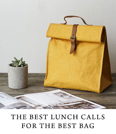 Lunch bags are a great way to display your logo