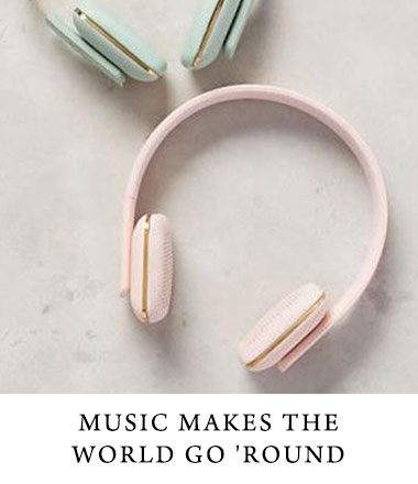 Headphones and music are great tools to display your brand