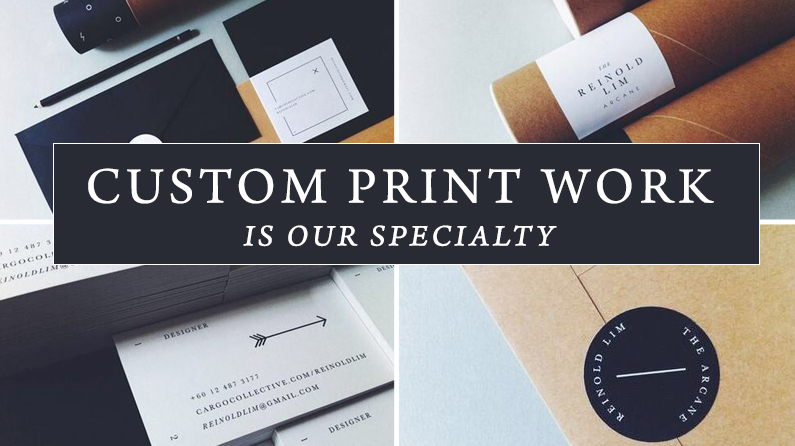 Custom printed projects