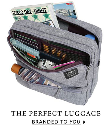 Travel bags and luggage branded to your company