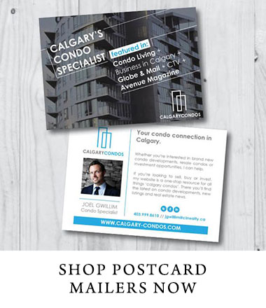 Shop postcard mailers now