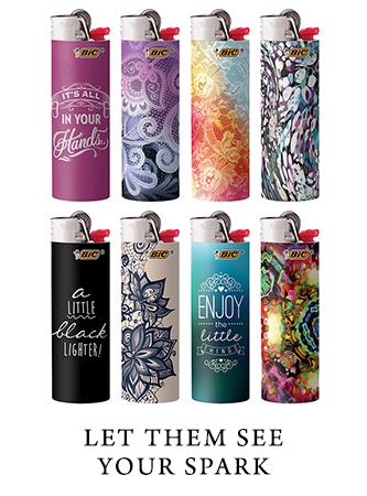 Custom branded lighters