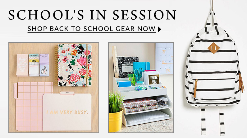 Shop back to school gear now