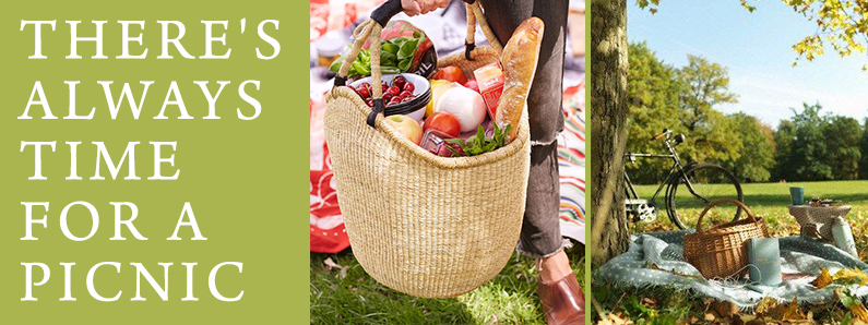 Branded picnic baskets and accessories for the last of summer