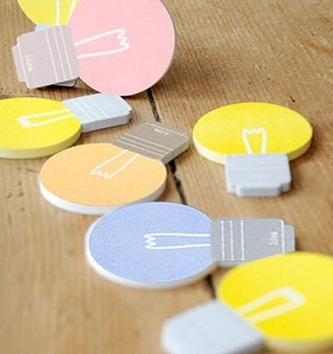 Post-it and sticky notes to help your ideas stick.