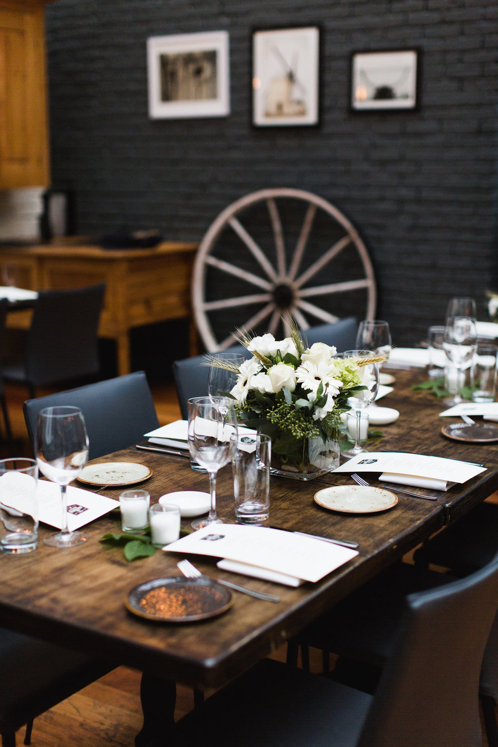 The milling room restaurant upper west side american for Table 52 reservations