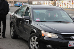 lyft driver uber driver