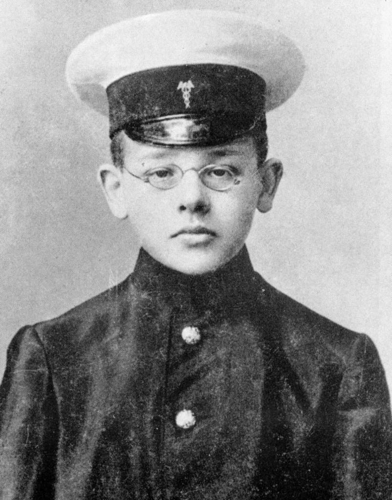 Isaac Babel, aged 13