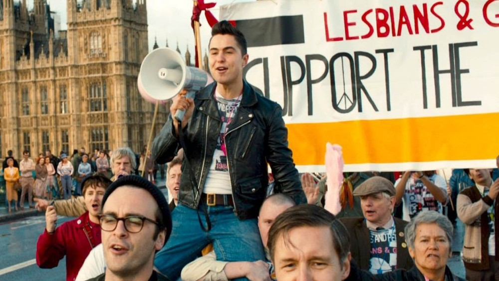 A scene from Matthew Warchus' Pride.
