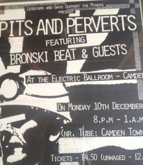 """Flyer from """"Pits and Perverts"""" benefit show"""
