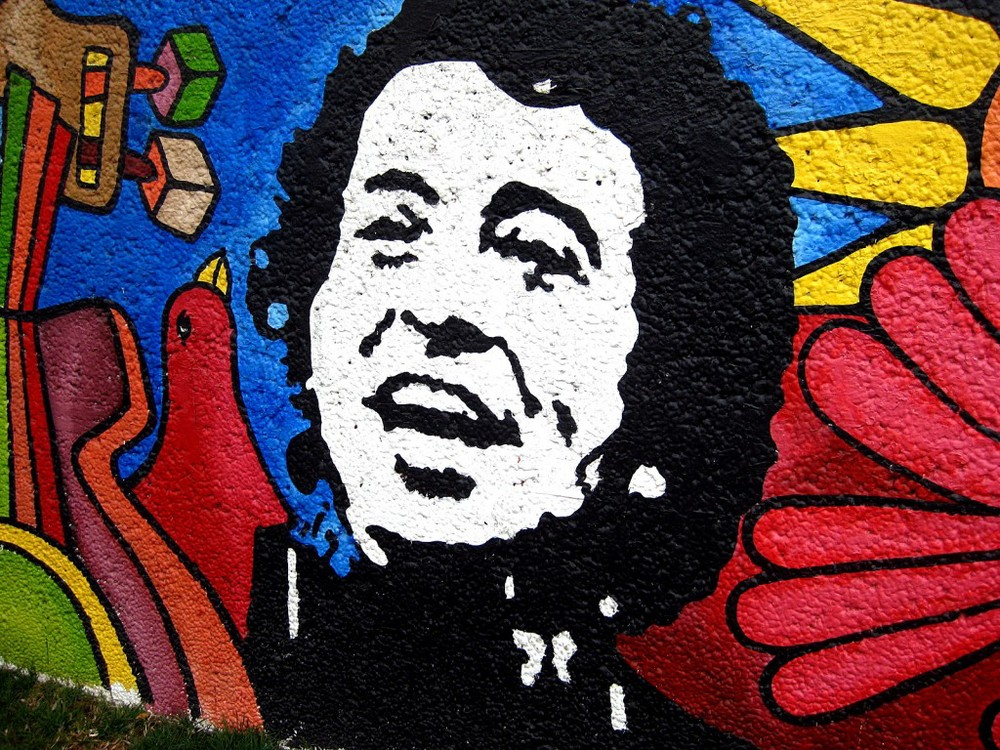 Mural of the late Victor Jara