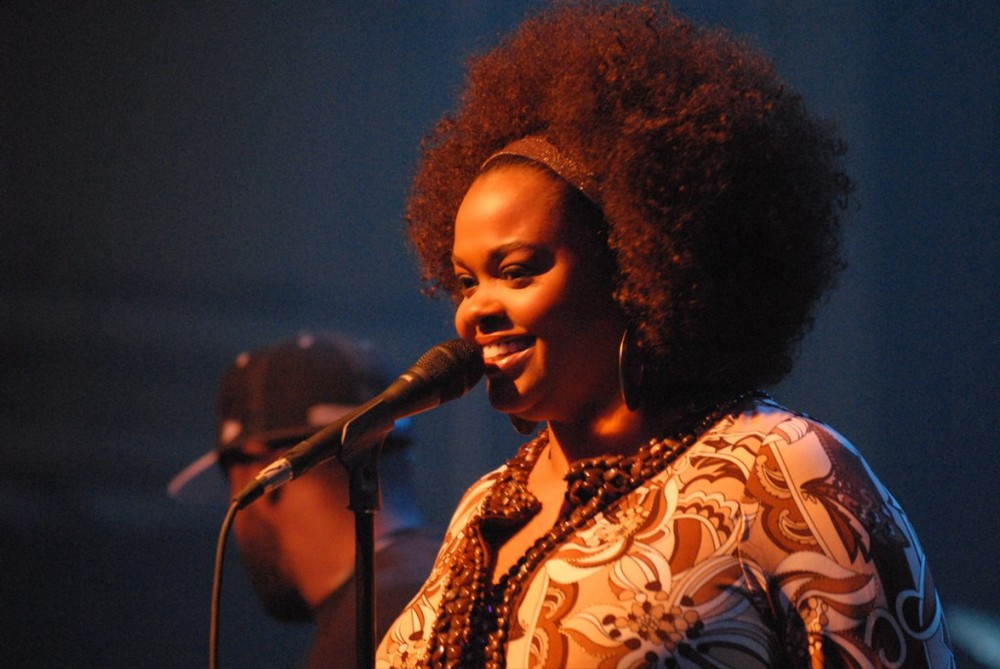 Jill Scott, one of many whose leaked photos have been shrugged at by the media