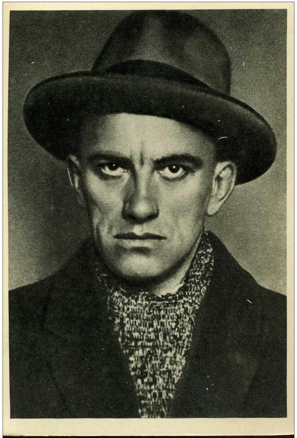 Vladimir Mayakovsky.