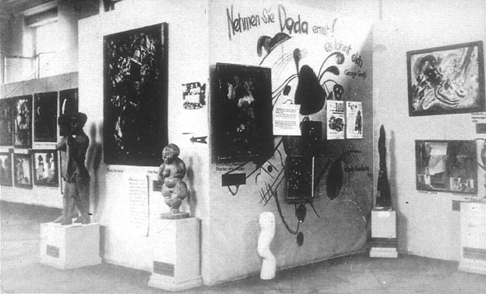 "The ""Dadaist"" section of ""Degenerate Art"""