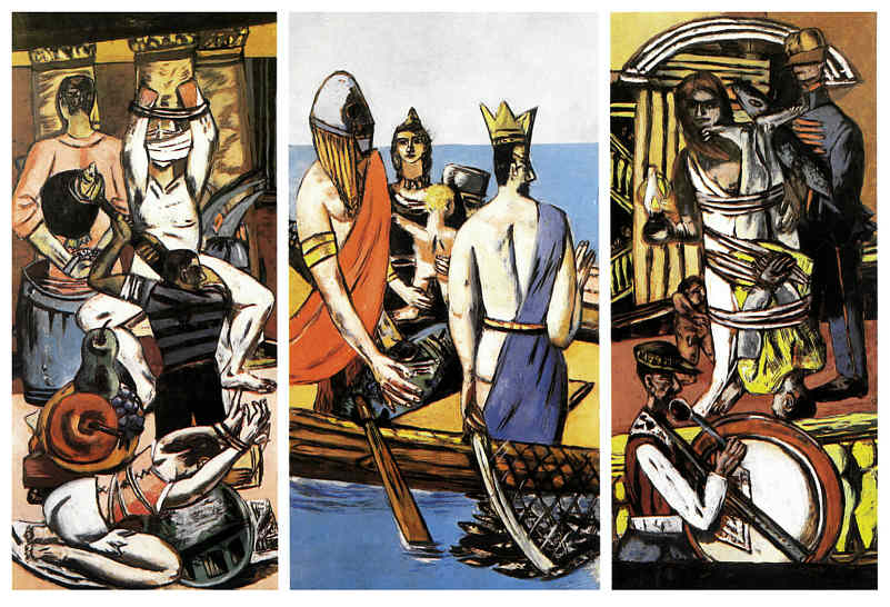 "Max Beckmann, ""The Departure"""