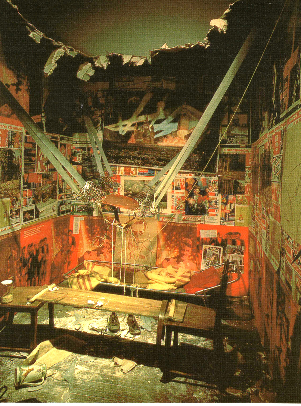 "Ilya Kabakov, ""The Man Who Flew Into Space from His Apartment,"" 1989/1990"