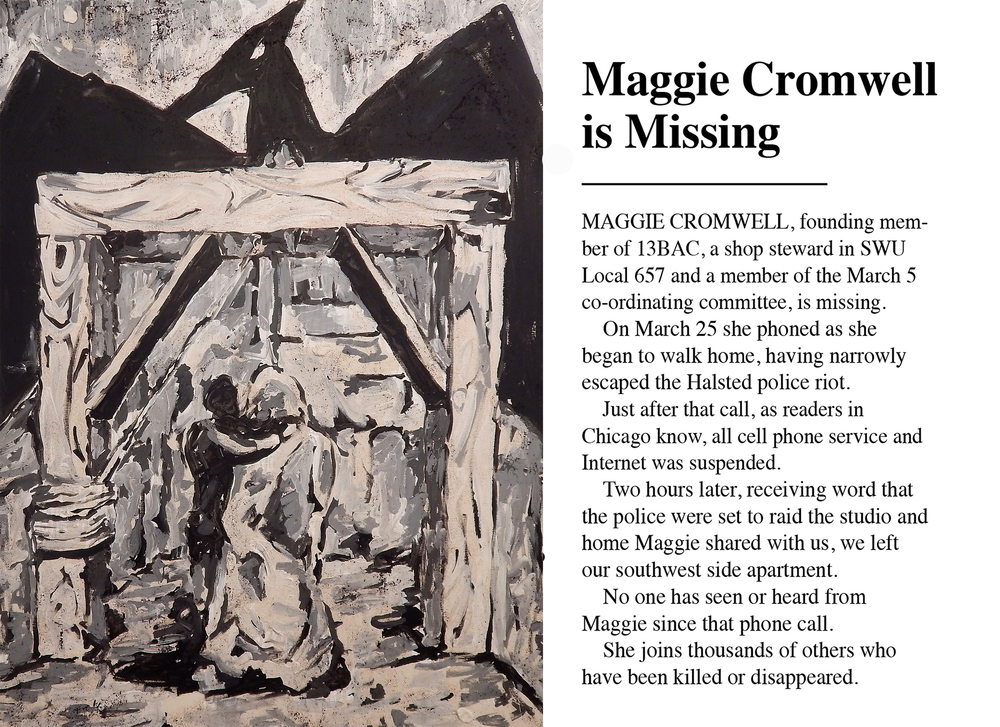 Maggie Cromwell is Missing