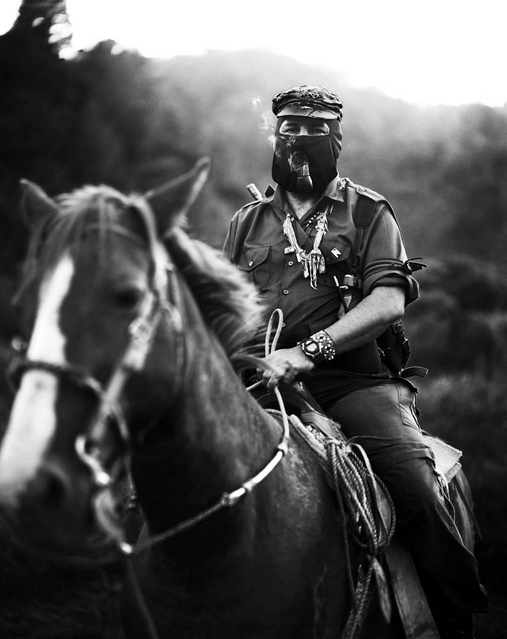 Subcomandante Marcos of the EZLN