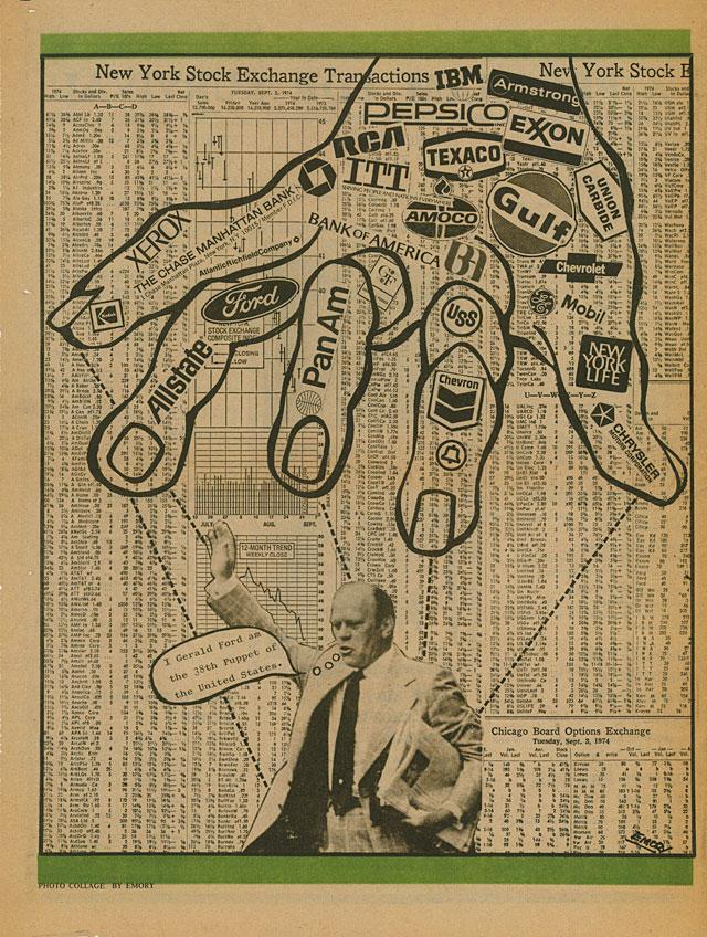 Emory Douglas, Black Panther poster (1974)