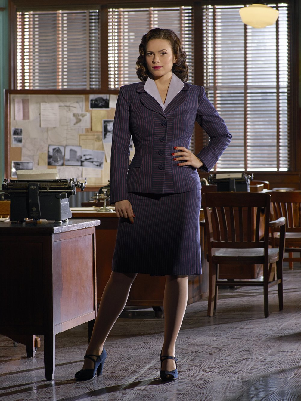 Agent Carter ( Hayley Atwell)