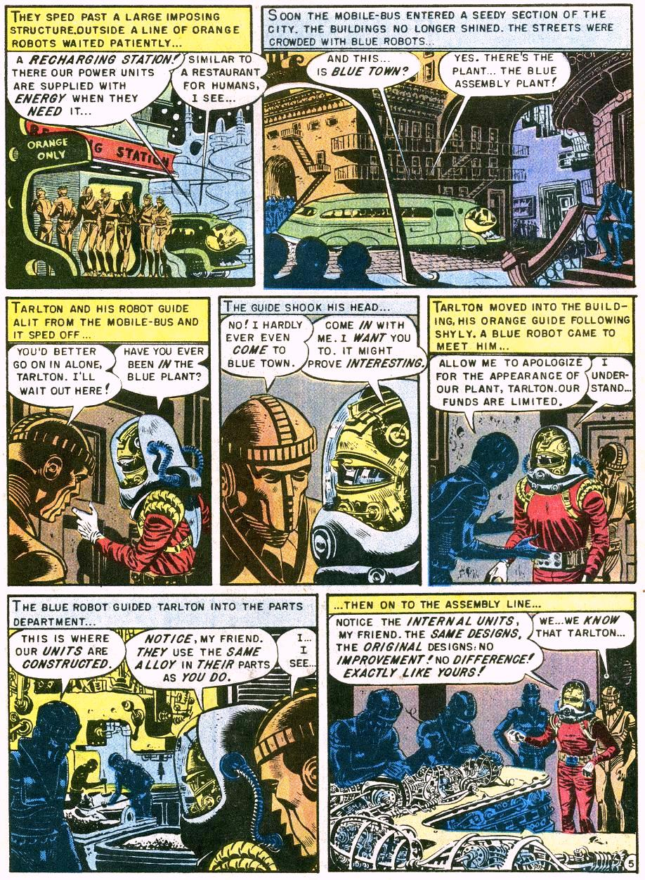 "From EC Comics, ""Judgement Day"" (1953)"