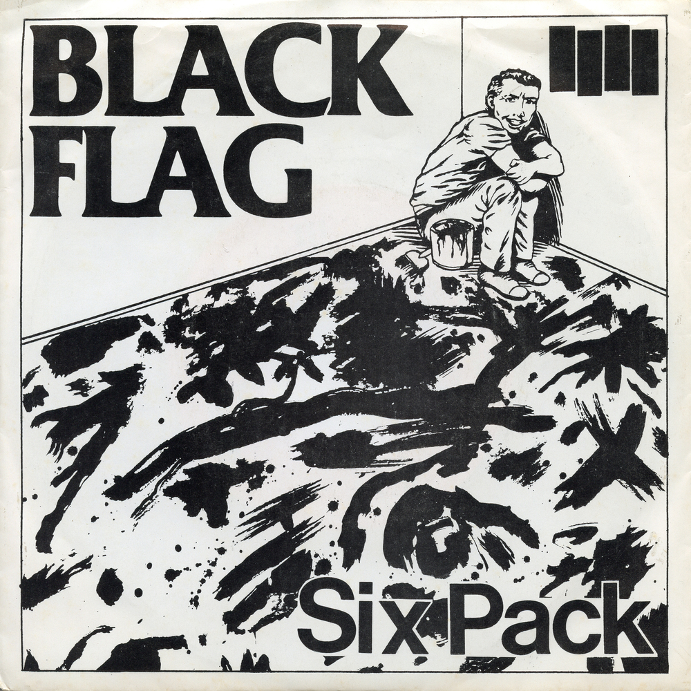 Raymond Pettibone, Black Flag: Six Pack, album cover