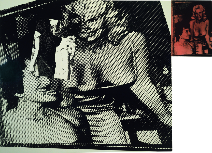 Marilyn Minter,  Big Girls , 1986 namel on canvas, 2 panels, overall 80 x 90 inches