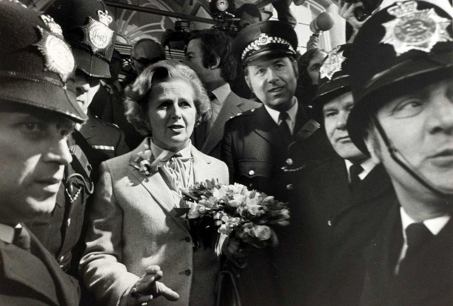 Margaret Thatcher and friends