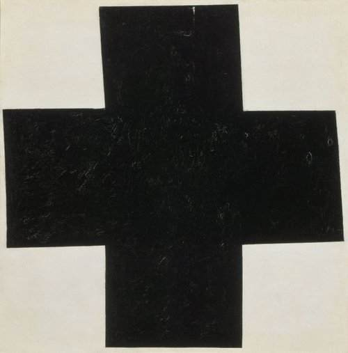 Kazimir Malevich Black Cross, 1915 Oil on canvas 31 1/2 x 31 1/2 inches