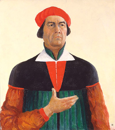 Kazimir Malevich Self-Portrait, 1933 Oil on canvas 28 3/4 x 26 inches
