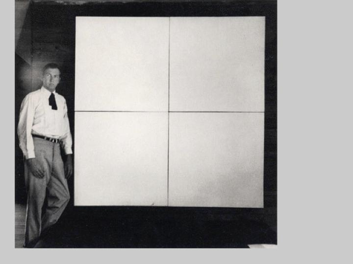 Robert Rauschenberg's White Paintings