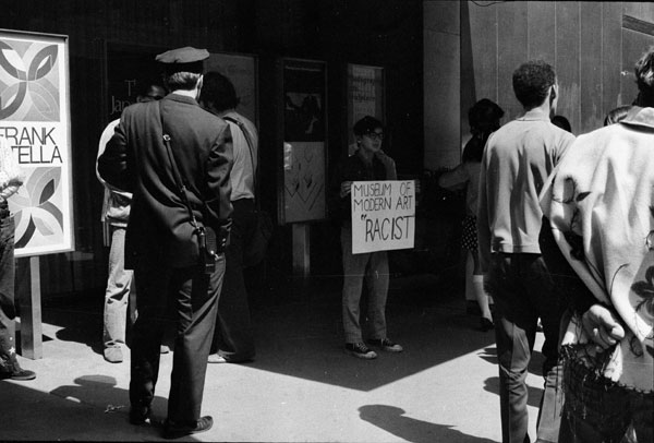 GGAG protest at the Museum of Modern Art, May 1970