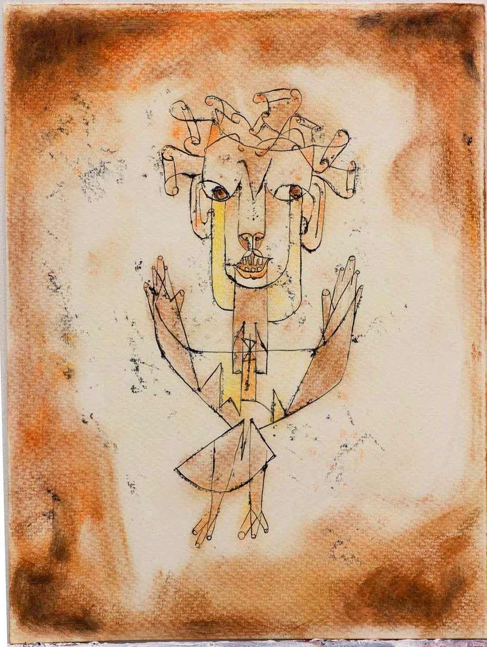 Paul Klee's Angelus Novus