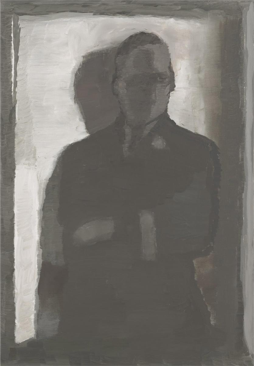Luc Tuymans  Himmler , 1997-98 Oil on canvas 20 1/4 x 14 1/4 inches