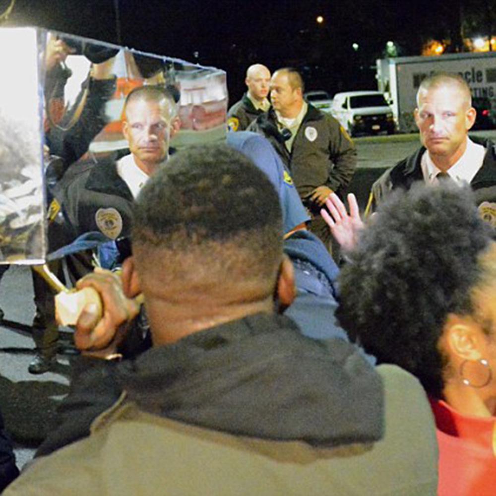 Mirrored Coffin (Ferguson/St. Louis)