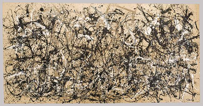 Jackson Pollock Autumn Rhythm (Number 30) (1950) Enamel on canvas 105 x 207 inches